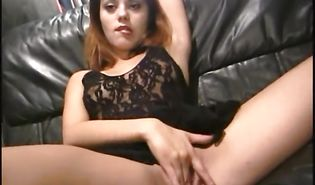 Wicked Daisy sucks and rides her chap toy guy