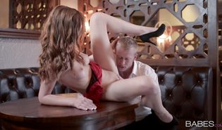 Breathtaking barely legal Linda Sweet got down and dirty with buddy