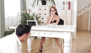 Shameless Susana Melo gives a steaming orall-service
