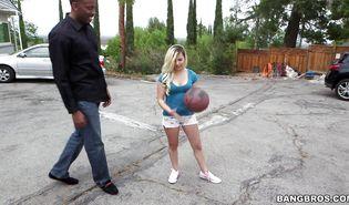 Mouthwatering blonde girlfriend Alex Little has her wazoo plowed by a talented boyfriend