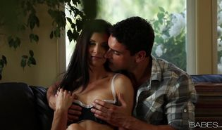 Enticing India Summer and mate are making a porn video cuz it excites them a lot