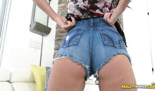 Hot perfection Charlotte Oryan and her dissolute buddy tenderly make out