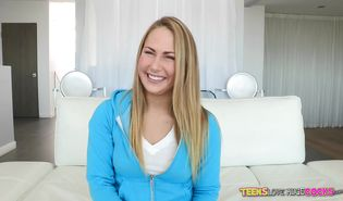 Mesmerizing Carter Cruise is getting fucked from the back and moaning from enjoyment a bit