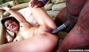 Dark-haired darling Sayeh is racy and ready for some intense banging