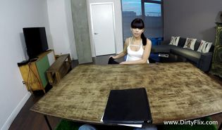 Man is fucking hot-tempered perfection Gina Valentina while she is trying to scream from fun