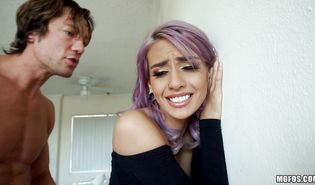 Aphrodisiac Janice Griffith fucked by her hunky brutal boy