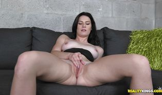 Kymberlee Anne is to slender to handle and likes sex