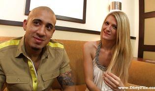 Stupendous Amanda Tate enjoys bouncing on mate hard and fast