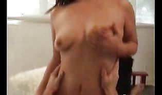 Chick Nadia loves feeling a tick stick on her fascinating hands